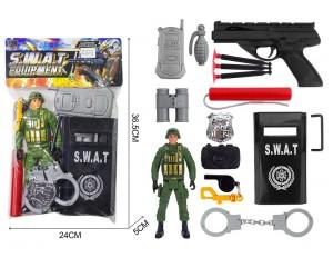 Набор полицейский в пакете 36,5*24*5