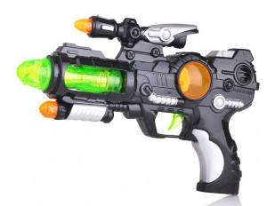 Оружие пистолет на бат. в пакете 26,5*19*5 (27666)