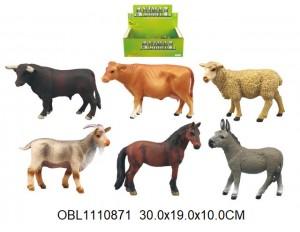 Животные домашние 12 шт/коробка Цена за 1 шт.