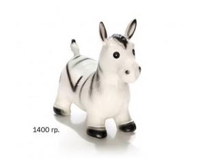 Животные надувные ослик серый 1300 г