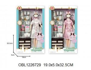 Кукла доктор 2 цвета