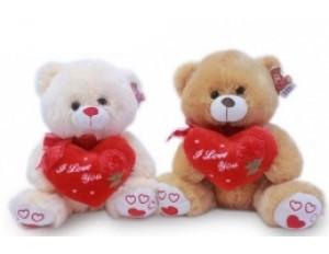 Медведь с сердцем 2 цвета