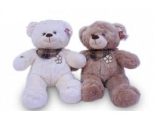 Медведь с вышивкой - 2цв