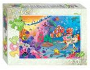 Пазлы 104 Подводный мир/Любимые сказки