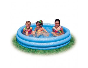 "Надувной бассейн ""Кристалл"" 168х38см 58446"