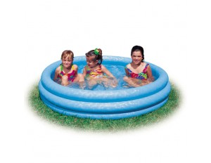 """Детский надувной бассейн """"Кристал"""" 147х33см 58426"""