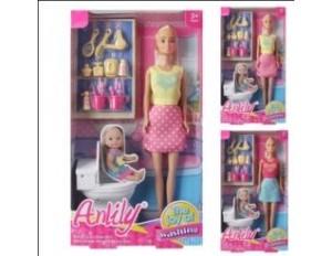 Кукла с аксесс в коробке 18*6*32
