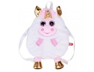Сумка-рюкзак блестяшка Единорог
