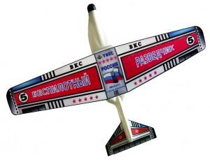 """Летающая модель самолета """"Беспилотник"""""""