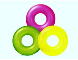 Надувной круг Неон 91см 9 лет 3 цвета 59262