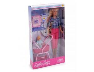 Кукла + малыш в асс. Defa