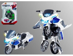 Трансформер мет. Робот-мотоцикл