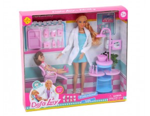 "Кукла ""Врач-стоматолог"" с аксесс. Defa"