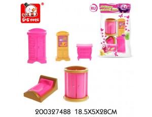Мебель для кукол, в пакете 18,5*5*28 см.