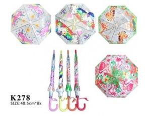 Зонтик 50см для девочек в ассортименте