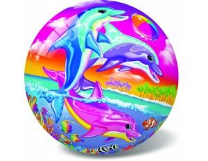 Мяч Счастливые дельфины 23 см