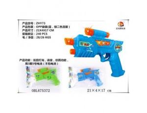 Пистолет на батарейках в пакете 21*4*17