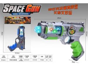 Пистолет на батарейках в пакете 25*3*15, 5