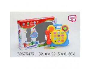 Телефон на бат. в коробке