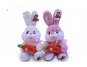 Зайка с морковкой- 2цв