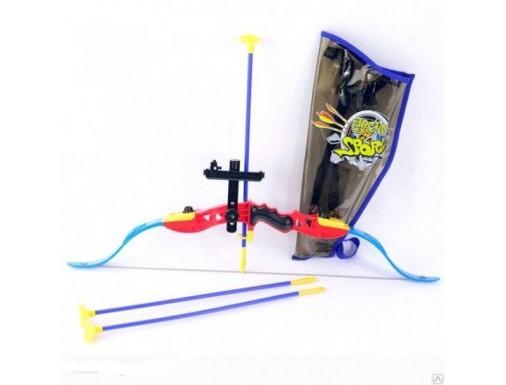 Лук в пакете с 3 стрелами в пакете 78*27*3