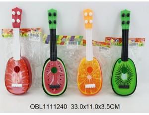 Гитара фрукты  Апельсин 1 вид