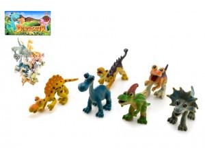 Животные динозавр 6 шт/пакет