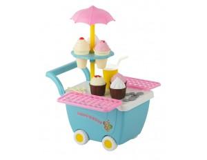 Игровой набор «Тележка с мороженым»